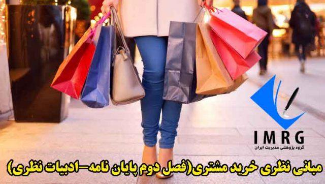 مبانی نظری خرید مشتری(فصل دوم پایان نامه-ادبیات نظری)